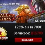 6 Millionen Euro im Hall of Gods Jackpot