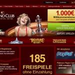 Casino Club: Bis zu 1000€ Casino Bonus!