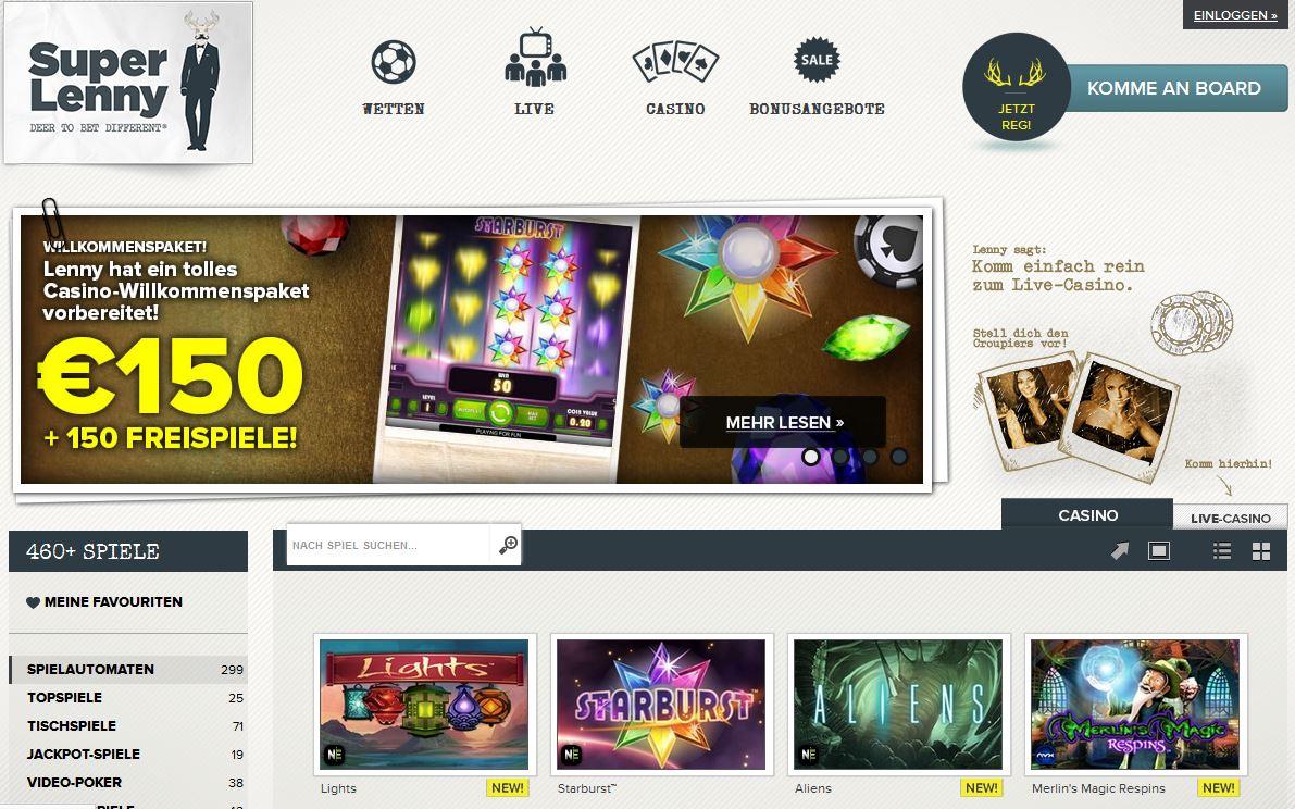 lenny casino